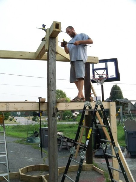 Dave - Framing the base structure