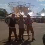 The Infernal Crew at their Maker Faire showing