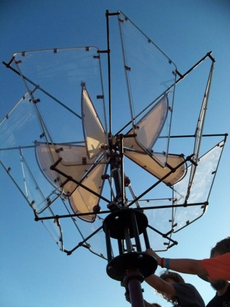 Todd Cahill's Wondrous Wind Device